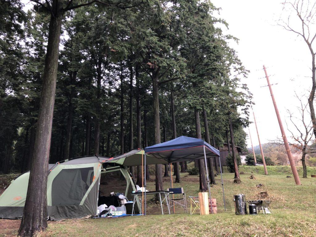山キャンプ